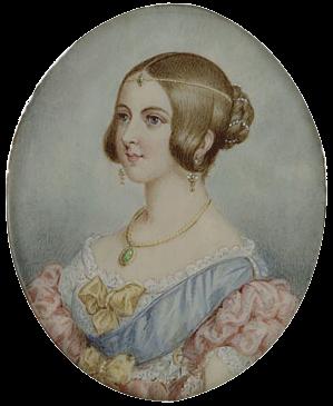 Portrait reine Victoria