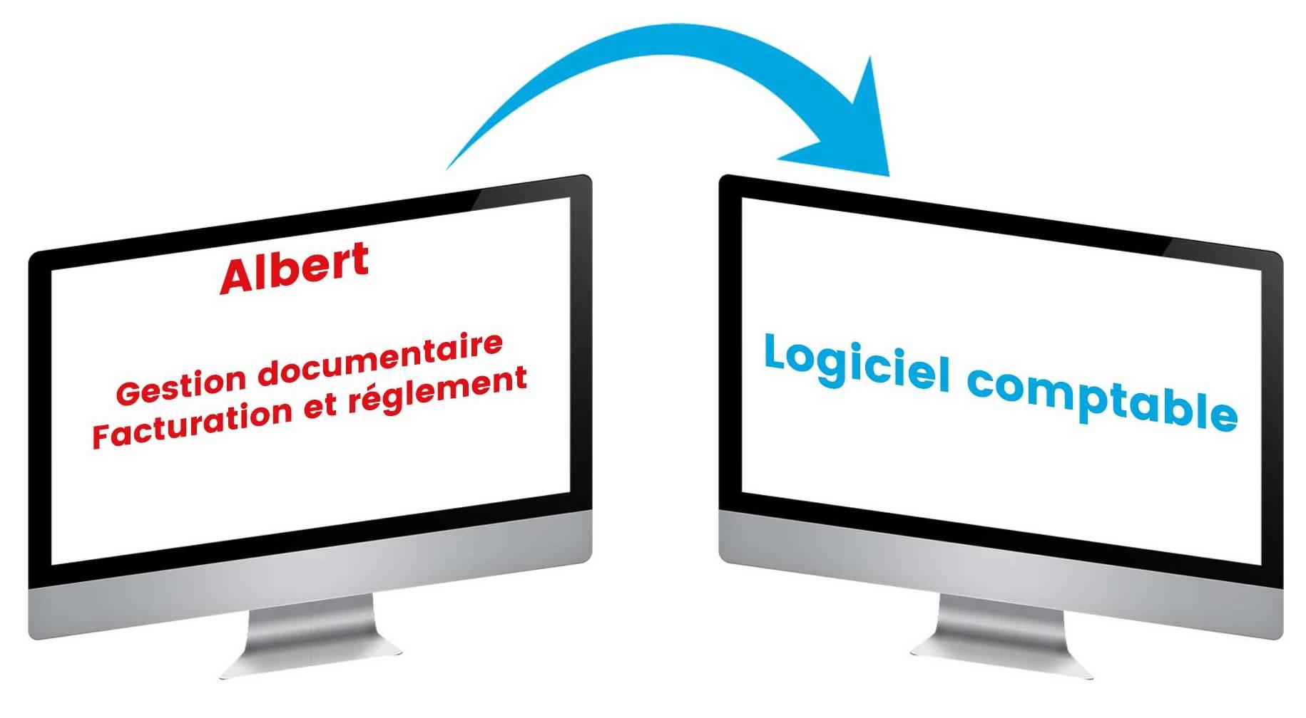 exportation fichiers comptable CRM Albert